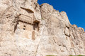 Tomb of persian kings naqsh e rustam in fars province iran Stock Photography
