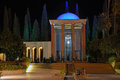 Tomb of sa di in shiraz iran Royalty Free Stock Photos
