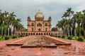 The Tomb of Safdarjung in New Delhi Royalty Free Stock Photo