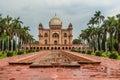 The Tomb of Safdarjung in New Delhi Royalty Free Stock Photo