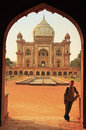 Tomb of Safdarjung, New Delhi, India Royalty Free Stock Photo