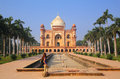 Tomb of Safdarjung in New Delhi, India Royalty Free Stock Photo