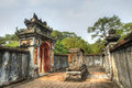 Tomb of tu duc hue vietnam this image shows the Stock Photography