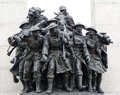 Tomb of the unknown soldier ottawa canada close up on at national war memorial in confederation square Royalty Free Stock Image