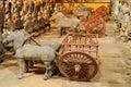 Tomb warrior (Terracotta Army) Royalty Free Stock Photo