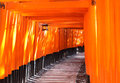 Tombeau de Fushimi Inari Photos stock