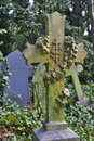 Tombstone in Hampstead Cemetery, London