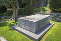 Tombstone of Henri Matisse and his wife Noellie, City of Nice, F Royalty Free Stock Photo