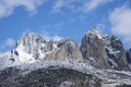 Tombstone yukon jagged mountains in territorial park in canada Stock Photography