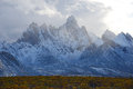Tombstone yukon jagged mountains in territorial park in canada Stock Image
