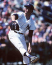 Tommy john new york yankees pitcher image taken from color slide Royalty Free Stock Photos