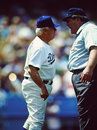 Tommy Lasorda, Los Angeles Dodgers Royalty Free Stock Photos