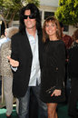 Tommy thayer summer mann at the los angeles premiere of a plumm bruin westwood ca Stock Image
