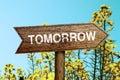 Tomorrow Roadsign