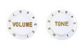 Tone and volume control buttons Royalty Free Stock Photo