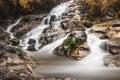 Tonengachang waterfall beautiful in songkhla province Royalty Free Stock Photo