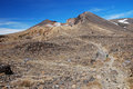 Tongariro Alpine crossing Royalty Free Stock Photos