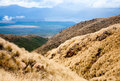 Tongariro national park in new zealand view from public track at Royalty Free Stock Images