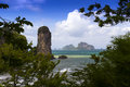 Tonsai bay krabi province thailand ao nang muang Royalty Free Stock Photo