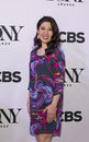 Tony awards meet the nominees press junket actress ruthie ann miles arrives on red carpet for at diamond horseshoe at Royalty Free Stock Image
