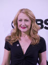 Tony awards meet the nominees press junket film and stage actress patricia clarkson known as queen of indies arrives on red carpet Royalty Free Stock Photos