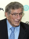 Tony bennett grammy winning singer and painter arrives on the red carpet for the new york premiere of the hbo bio documentary Royalty Free Stock Images