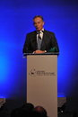 Tony blair speaks at thai reconciliation forum former british prime minister a titled uniting for the future learning from each Royalty Free Stock Photos