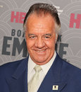 Tony sirico actor known for playing the role of pauly walnuts in the sopranos arrives on the red carpet for the new york city Royalty Free Stock Images