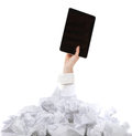 Too many paper work. Concept Stock Image
