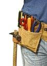 Tool belt Royalty Free Stock Photo