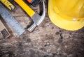tool kit renovation Royalty Free Stock Photo