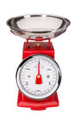 Tool for measuring the weight of food balance classic Royalty Free Stock Photos