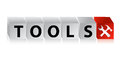 Tools Button Click Here Block Text Stock Photo