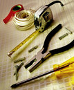 Tools for general maintenance Royalty Free Stock Photography