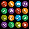 Tools icons set Royalty Free Stock Photo