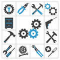 Tools icons Royalty Free Stock Photo