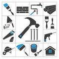 Tools icons vector set for you design Stock Photo