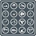 Nástroje a ikony