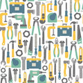 Royalty Free Stock Photography Tools pattern
