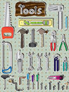 Tools Set_eps Stock Photos