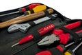 Tools set on white background Royalty Free Stock Photo