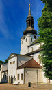 Toomkirik (Dome Church) in Tallinn Stock Photography