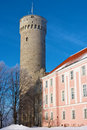 Toompea. Tallinn, Estonie Photographie stock