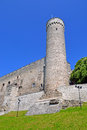 Toompea tower in summer day tallinn estonia Stock Photos