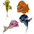 Toon fish Stock Photography