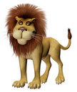 Toon lion Royalty Free Stock Photo