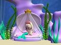 Toon Mermaid Royalty Free Stock Photos
