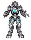 Toon Robot Royalty Free Stock Photo