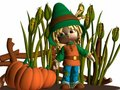 Toon Scarecrow Stock Photos