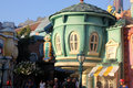 Toontown attractions Clock Repair, Laughter Meter, Disneyland, Anaheim California, USA Royalty Free Stock Photo